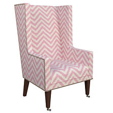 Wiggle Pink Neo-Wing Chair