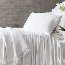 Wilton White Bedspread
