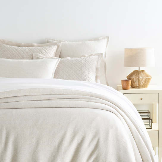 Wilton Natural Duvet Cover