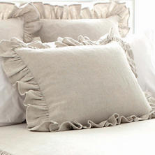 Wilton Natural Ruffle Sham
