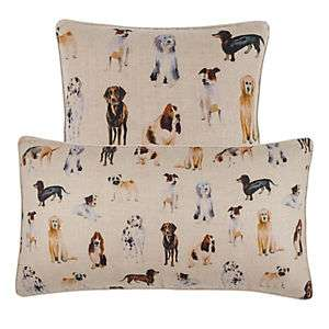 Woof Linen Decorative Pillow