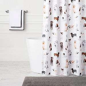 Woof Shower Curtain