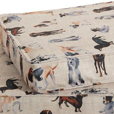 Woof Dog Bed Cover
