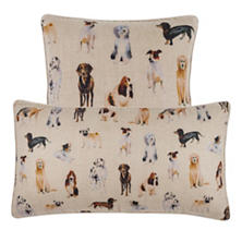 Woof Linen Decorative Pillow
