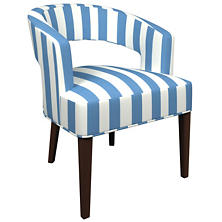 Alex French Blue Wright Chair