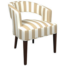 Alex Linen Wright Chair