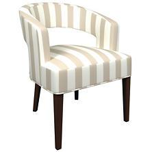 Alex Pearl Grey Wright Chair