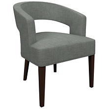 Canvasuede Ocean Wright Chair