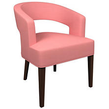 Estate Linen Coral Wright Chair