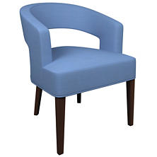 Estate Linen French Blue Wright Chair