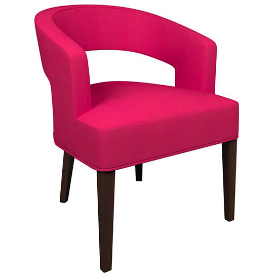 Estate Linen Fuchsia Wright Chair