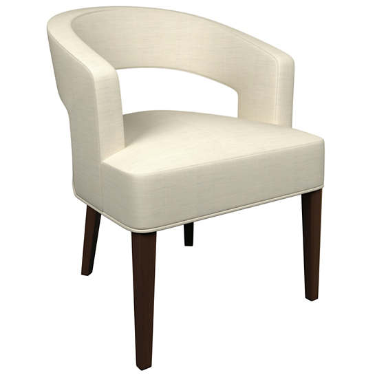 Estate Linen Pearl Grey Wright Chair