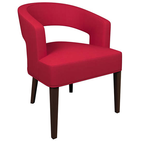 Estate Linen Red Wright Chair