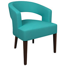 Estate Linen Turquoise Wright Chair