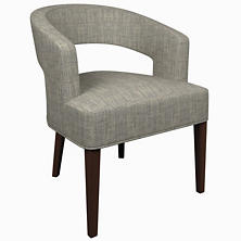 Chevron Indigo Wright Chair