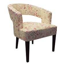 Ines Linen Wright Chair