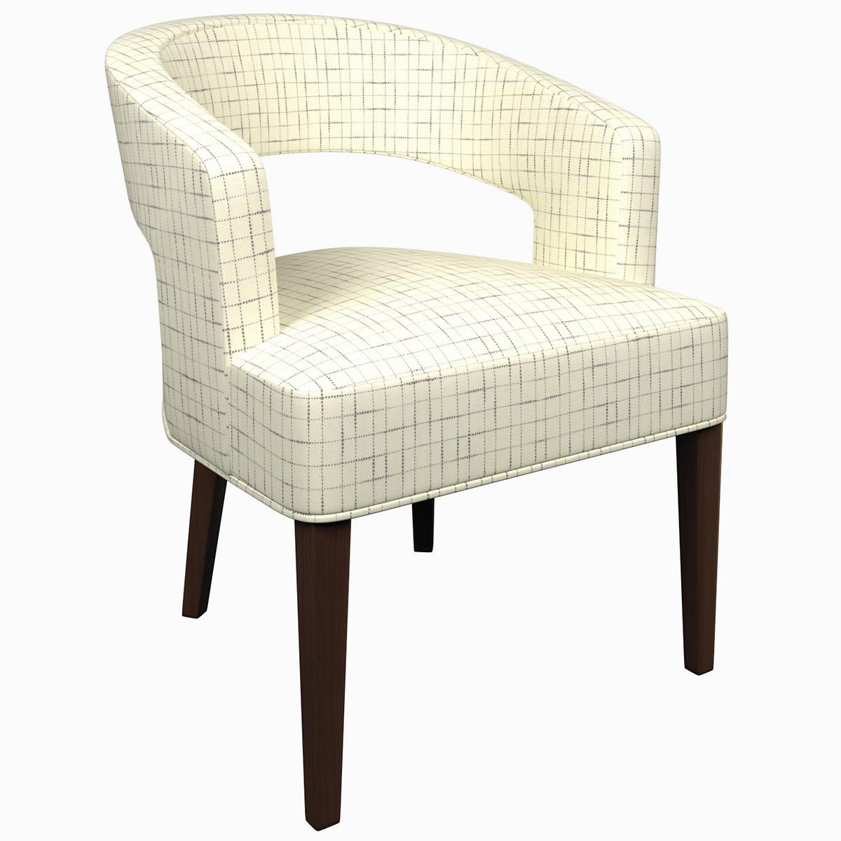 Nicholson Grey Wright Chair