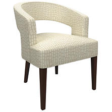 Pebble Ivory Wright Chair