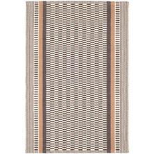 Xavier Stripe  Woven Cotton Rug