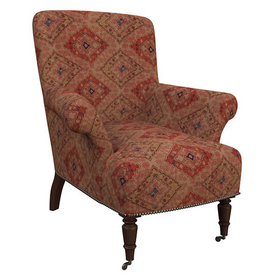 Yasmine Linen Barrington Chair