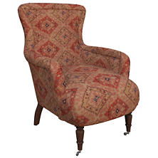 Yasmine Linen Charleston Chair