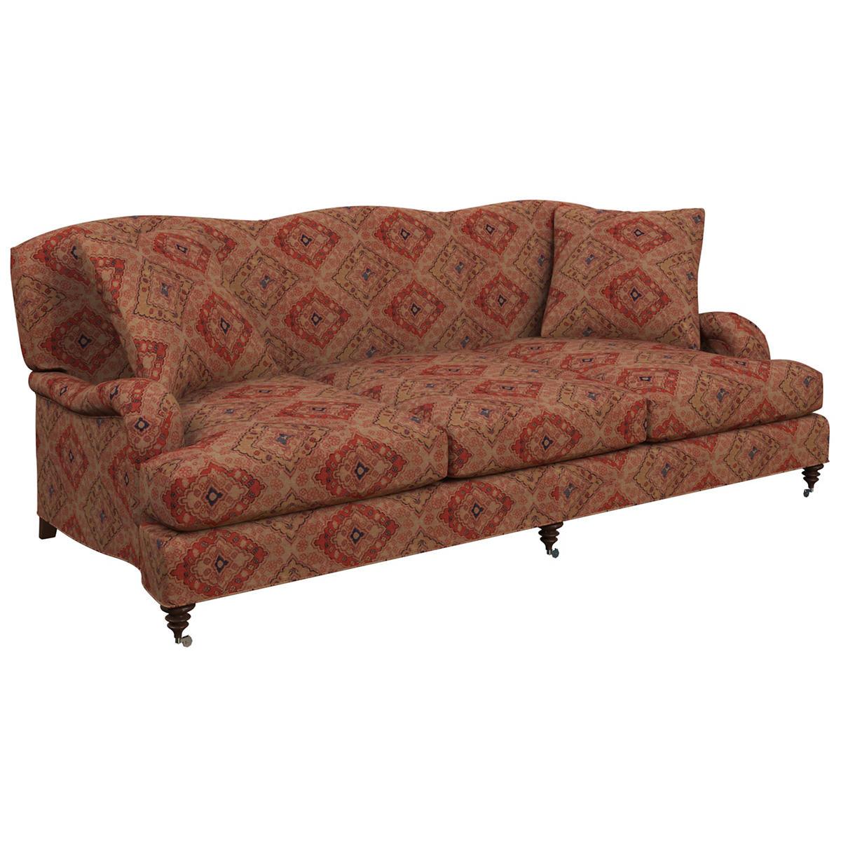 Yasmine Linen Litchfield 3 Seater Sofa