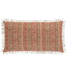 Yasmine Linen Stripe Decorative Pillow