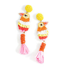 Yellow Fiesta Earrings