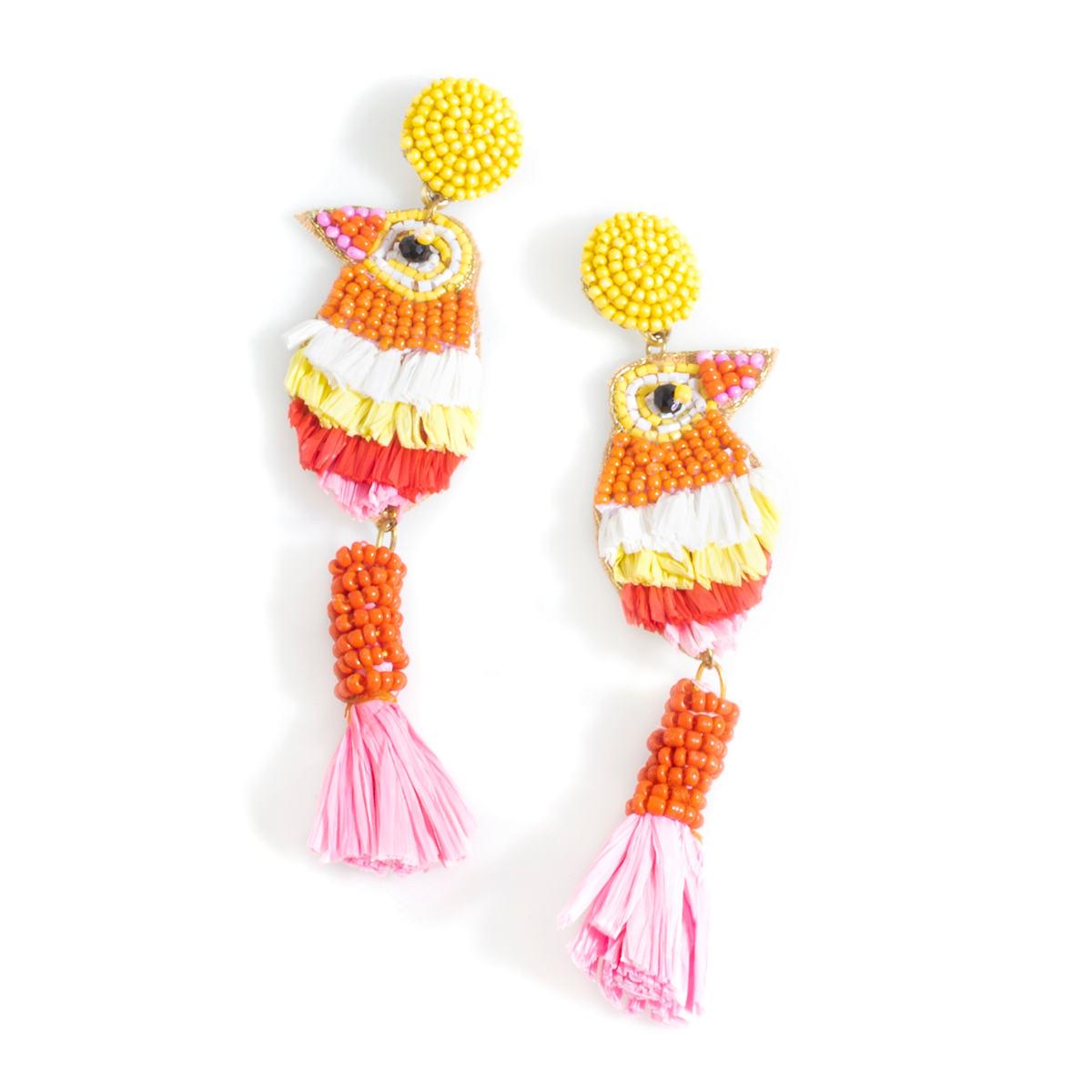 Yellow Fiesta Earrings