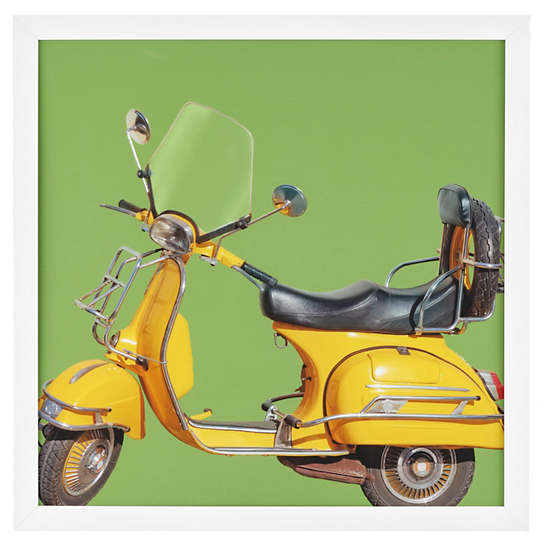Yellow Scooter Art