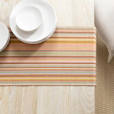 Zanzibar Stripe Table Runner