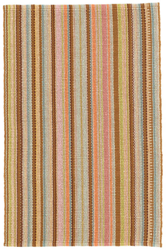 Zanzibar Ticking Woven Cotton Rug