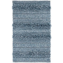 Zhara Stripe Denim Indoor/Outdoor Rug
