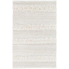 Zhara Stripe Ivory Indoor/Outdoor Rug