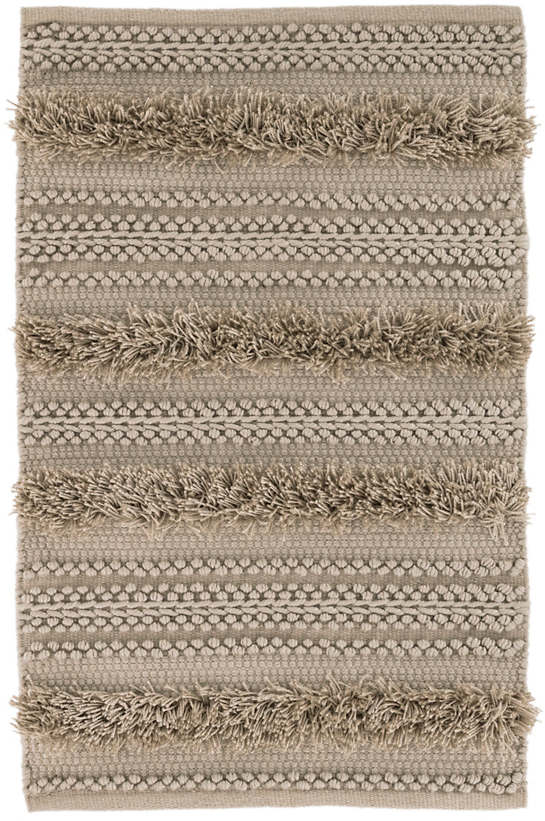 Zhara Stripe Mocha Indoor/Outdoor Rug