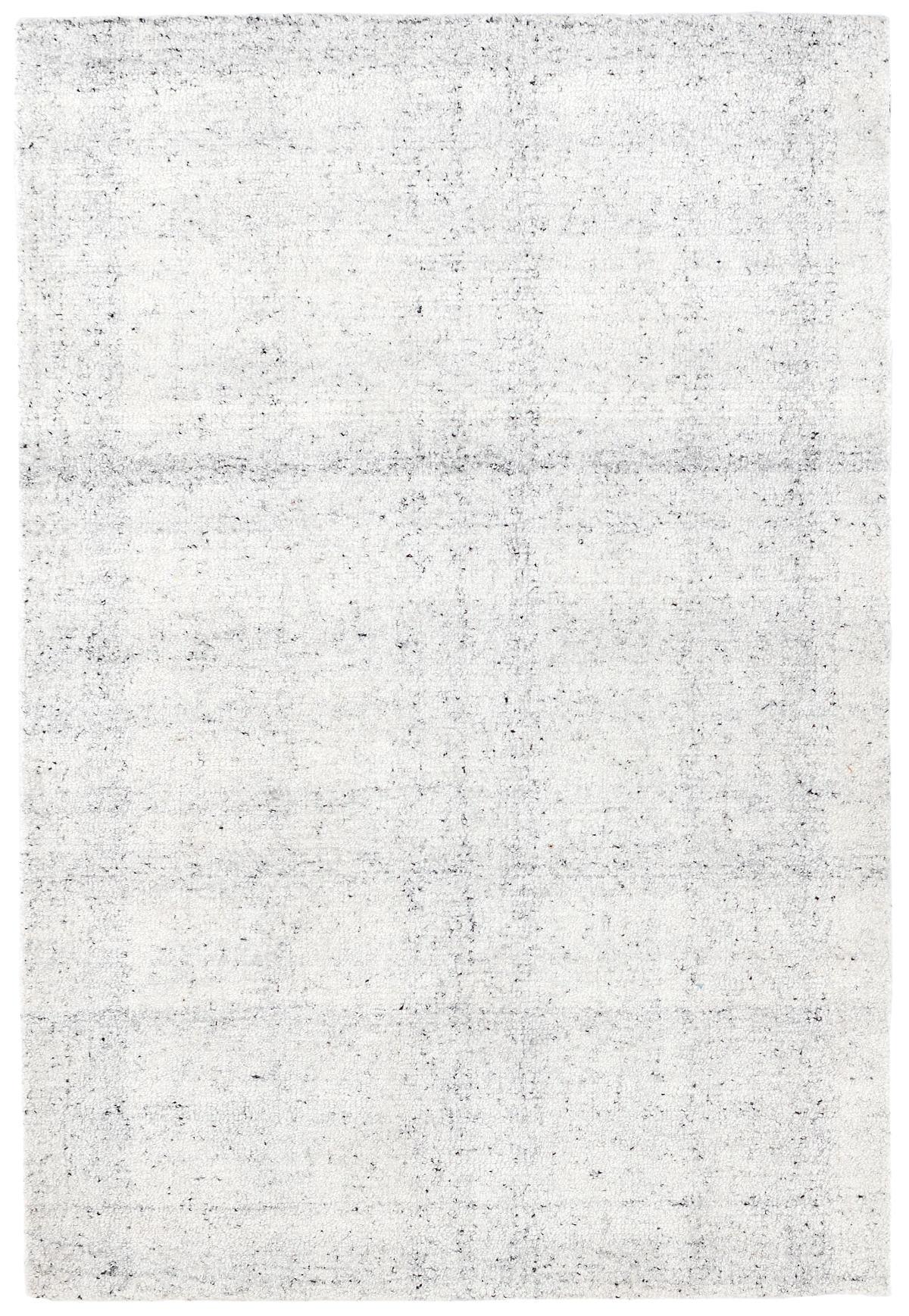 Zhivago White Micro Hooked Viscose Rug