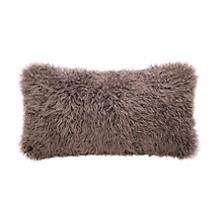 Zinc Longwool Curly Sheepskin Decorative Pillow
