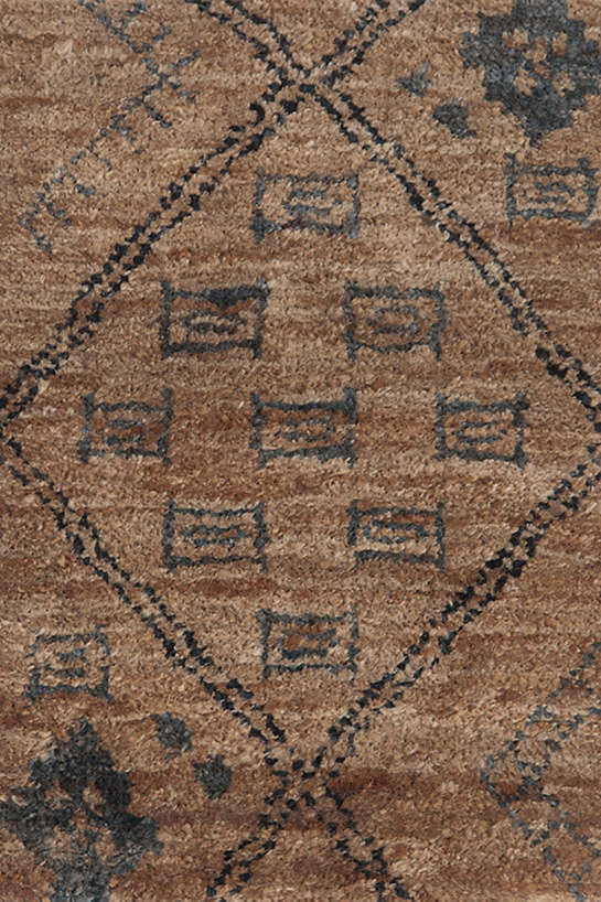 Zuni Hand Knotted Jute Rug