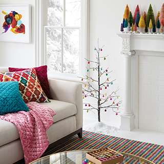 Light Up Your Holiday With Uplifting Pops Of Color.